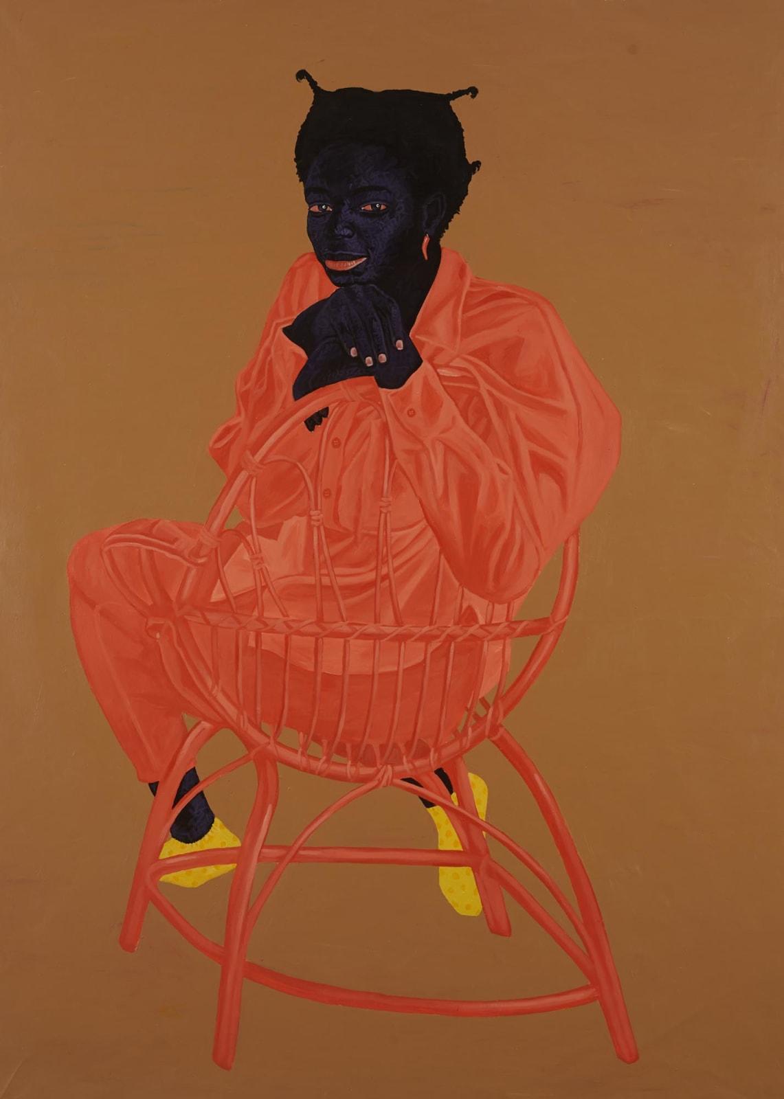 Kwesi Botchway, Bamboo Chair, 2020