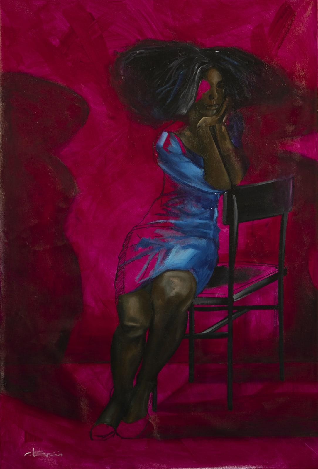 Joshua Oheneba-Takyi, Lost in Thought, 2021