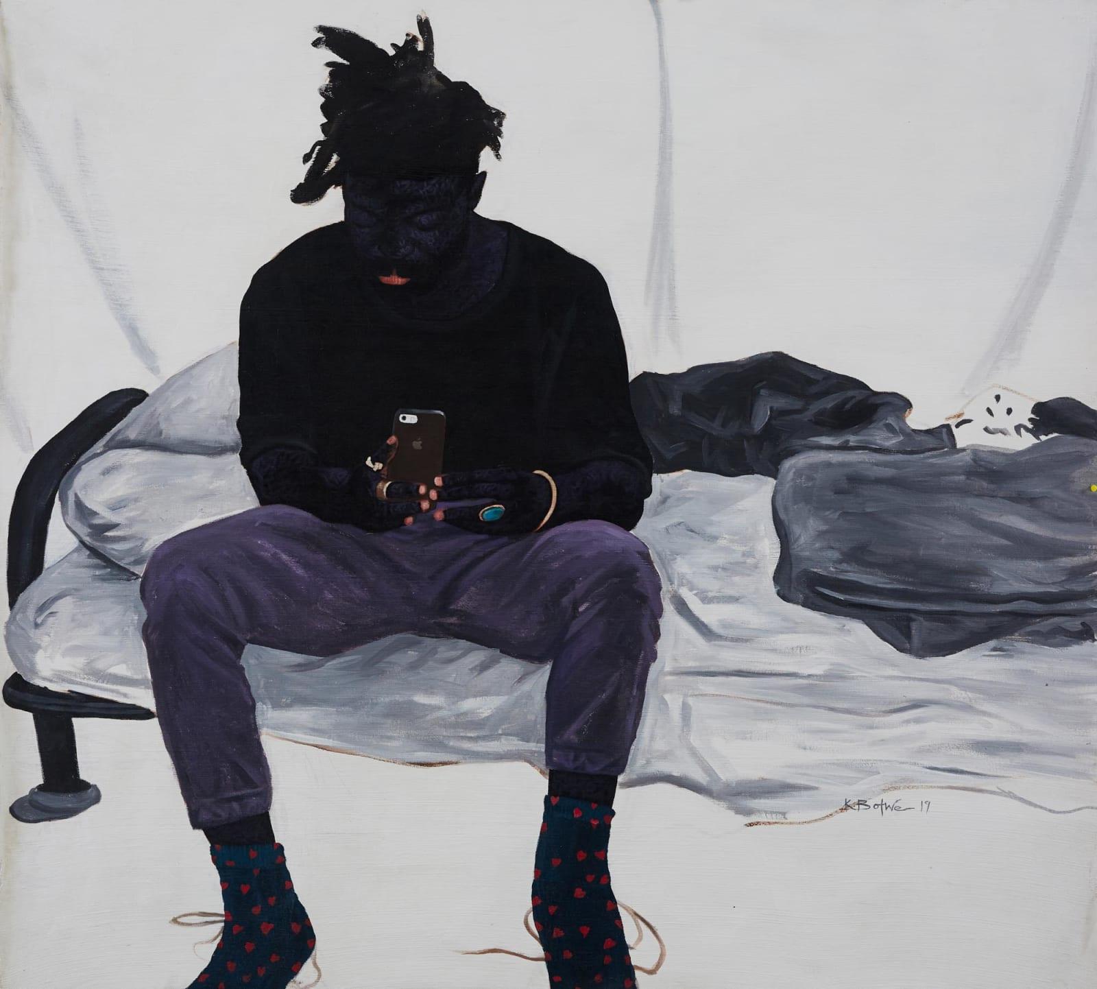 Kwesi Botchway, Love Socks (Alwyn Robinson), 2020