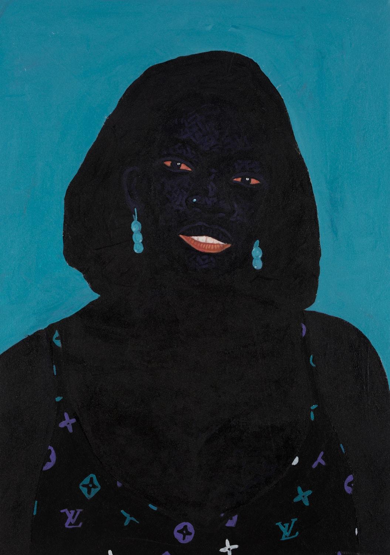 Kwesi Botchway, Emerging In (Luis Vuitton Brassiere), 2020