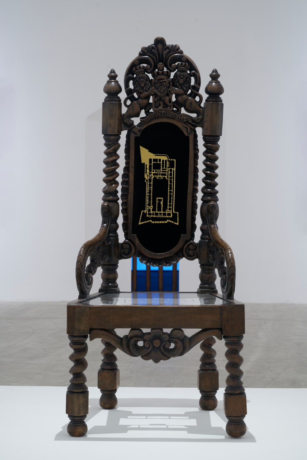 Langlands & Bell, The Governor's Chair, 2021. Installation - 'The Past Is Never Dead...'