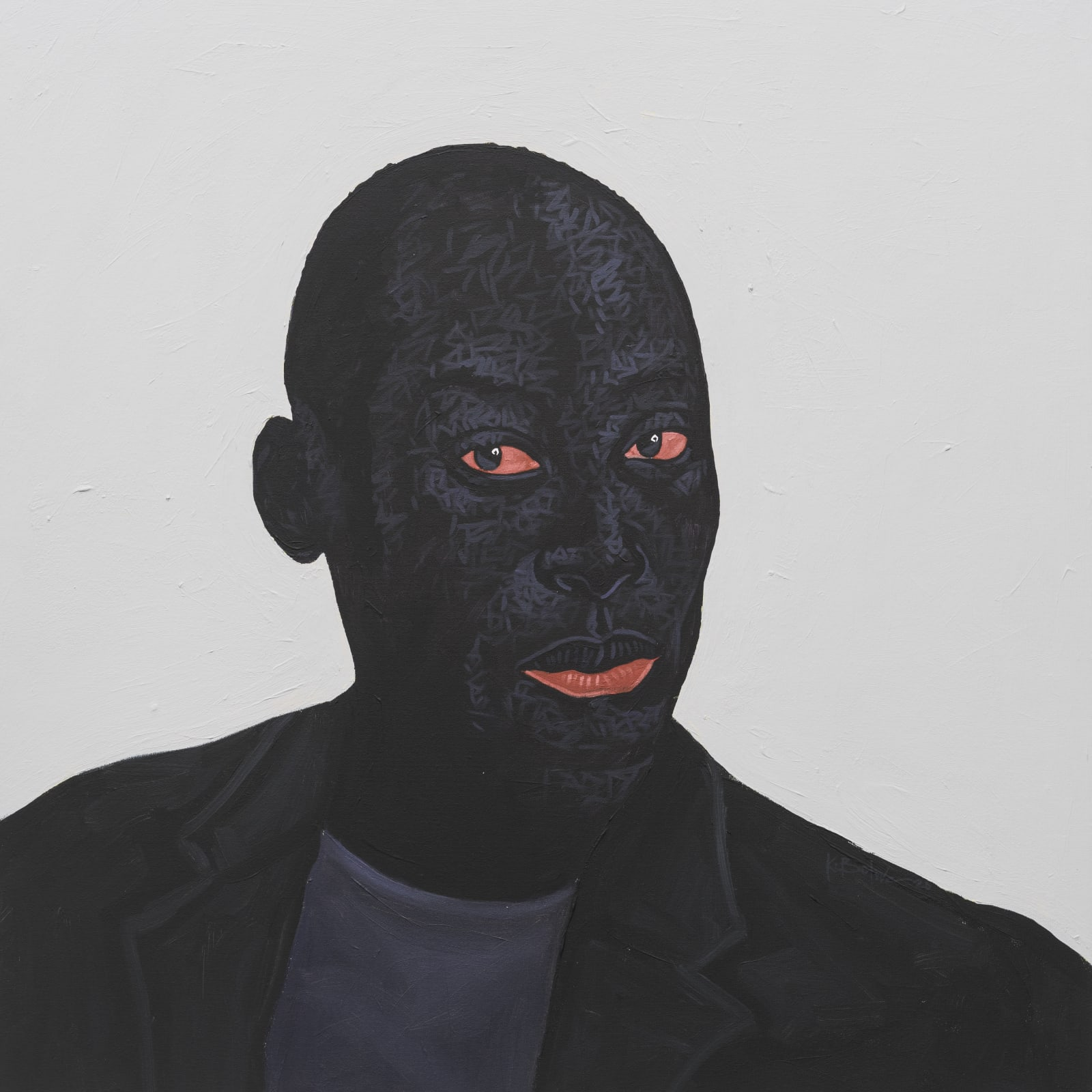 Kwesi Botchway, Bold Head Gaze (Ekow Eshun), 2020
