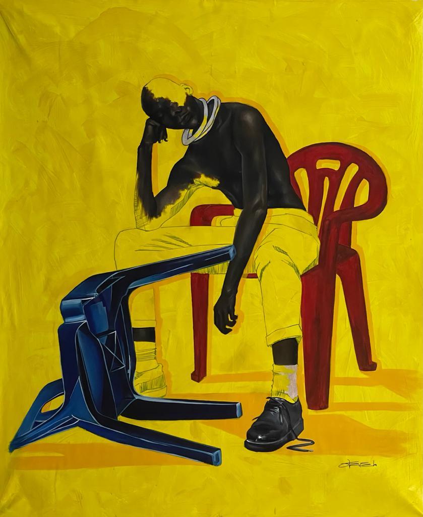 Joshua Oheneba-Takyi, Dilemma, 2021