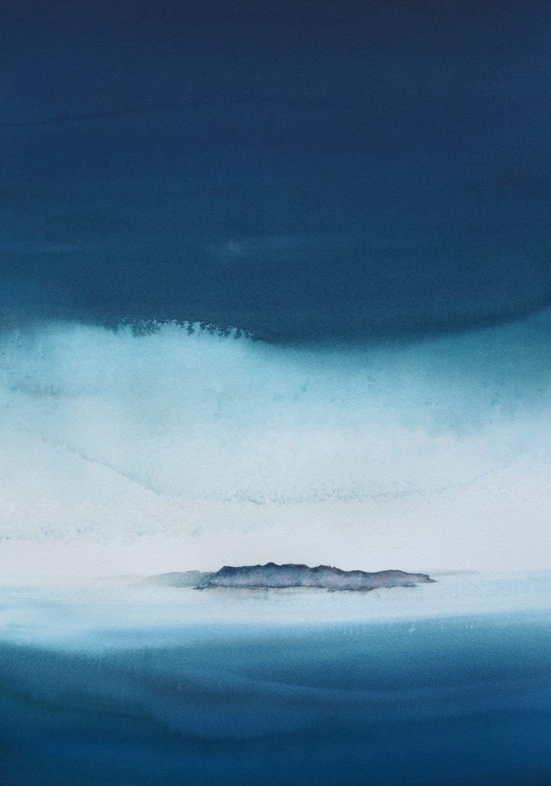Susan Macintosh, Morning Rain, Cuillin Ridge, 2021