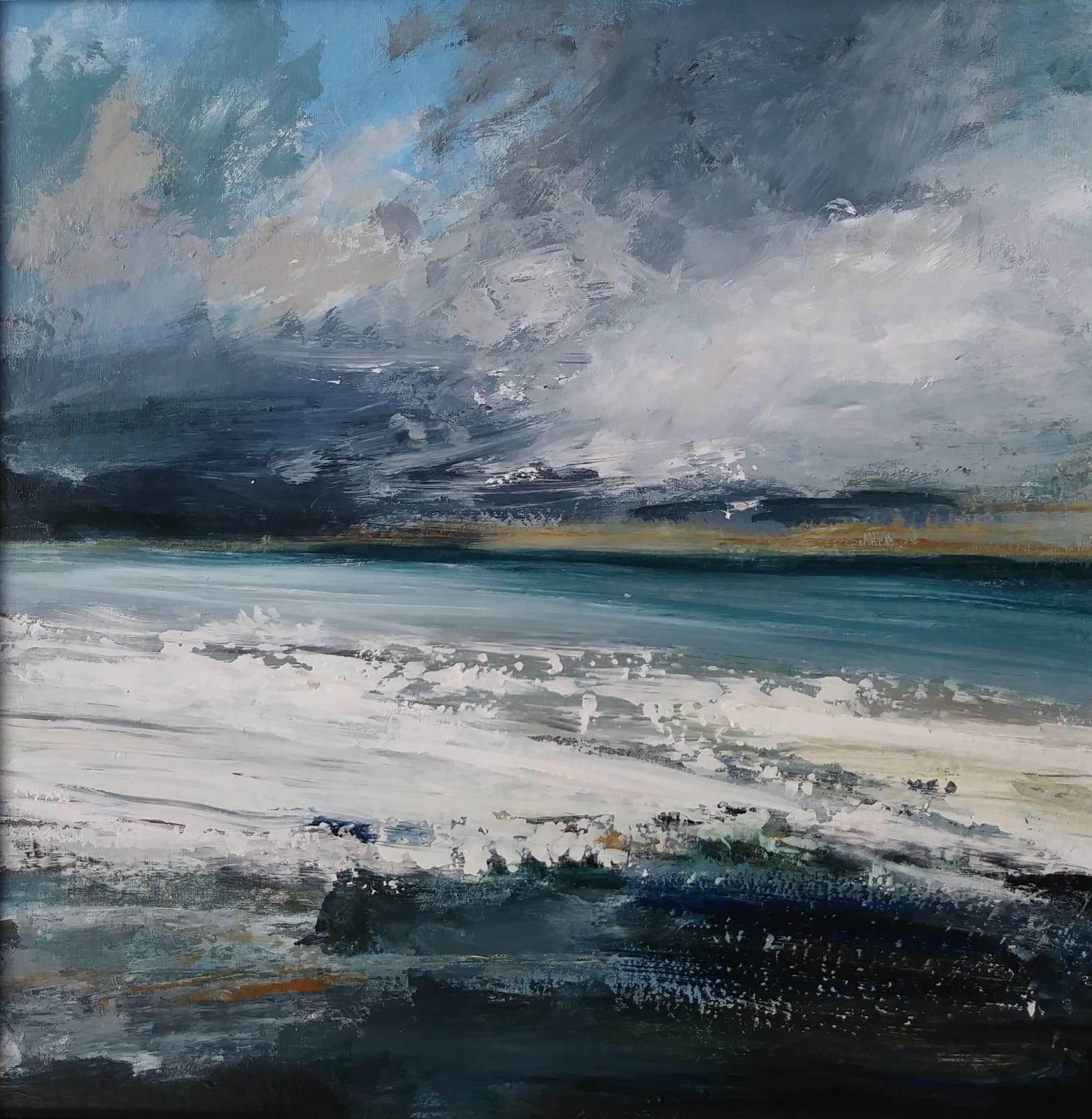 Frances Innes, Storm Lashed Shore, 2021