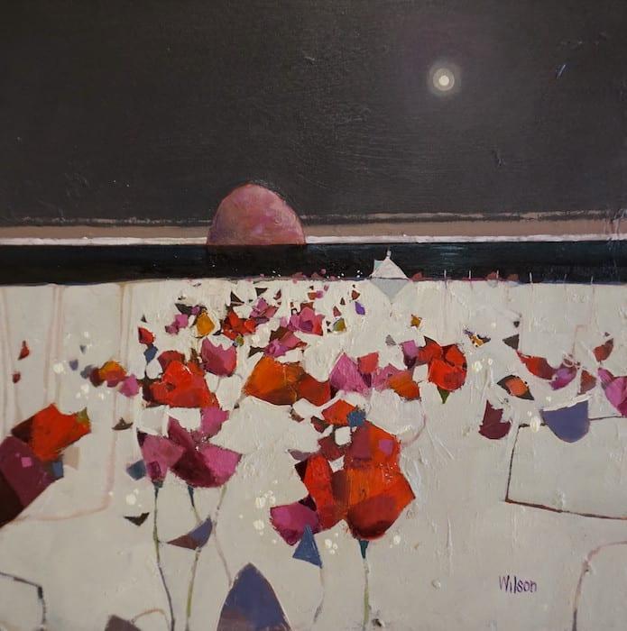Gordon Wilson, Ailsa Fixation and Flowers