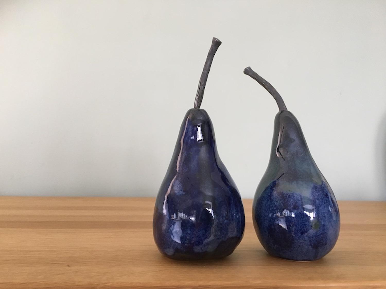 Lois Carson, Pair of Blue Pears