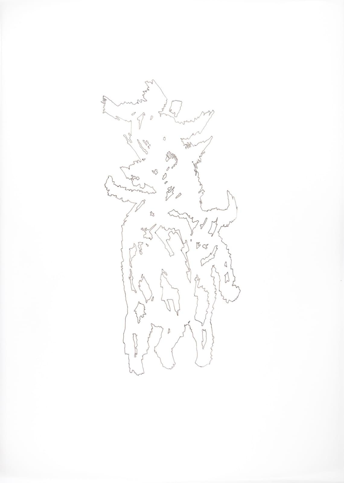 Rowan Dahl, Zombie Minotaurs 4 (set of 4)