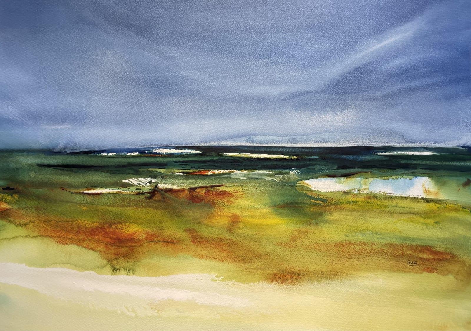Stephen Redpath, Looking Inland, Sutherland, 2021