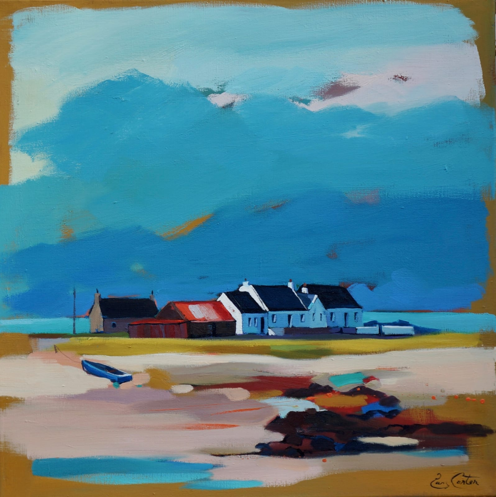 Pam Carter, Beach Cluster, 2021