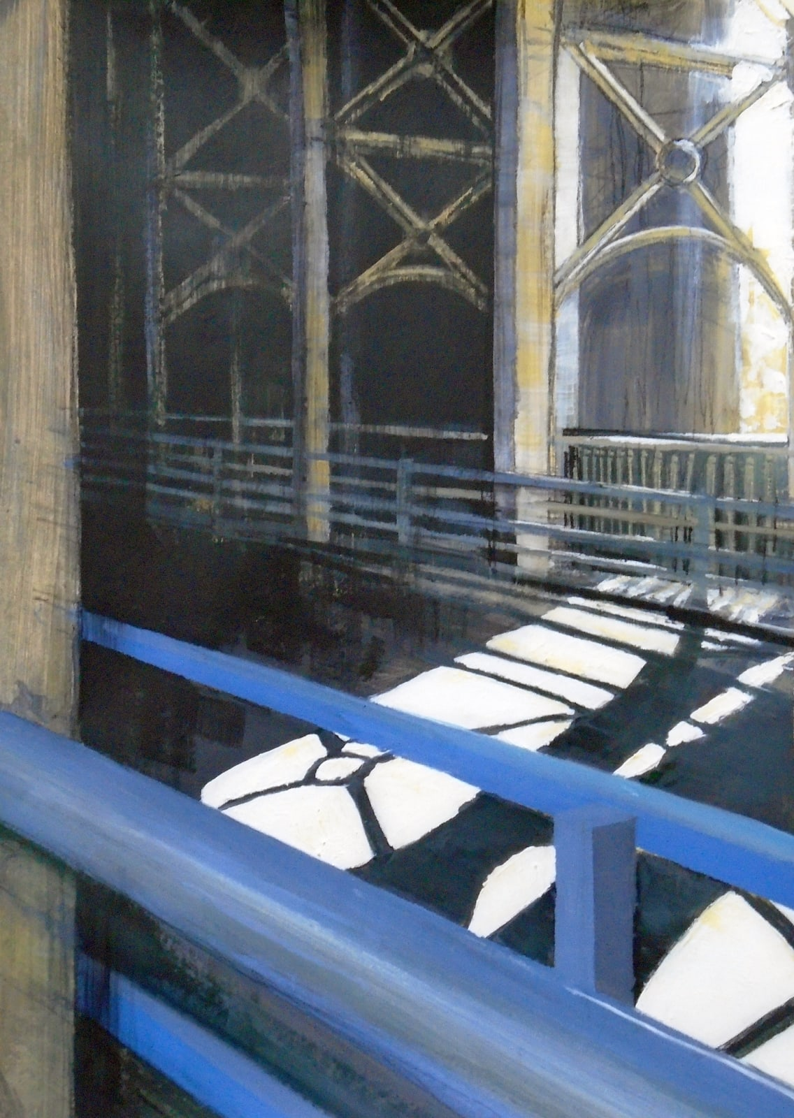 Lindsey Lavender, High Level Bridge