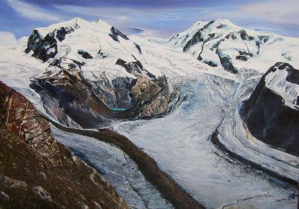 Peter Goodfellow, The Gorner Glacier
