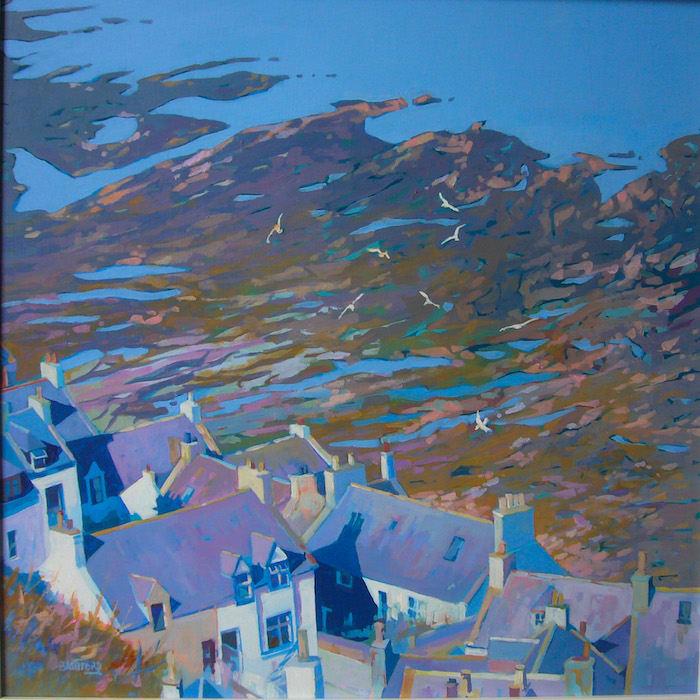 Ian Bashford, Rock Pools, Gardenstown