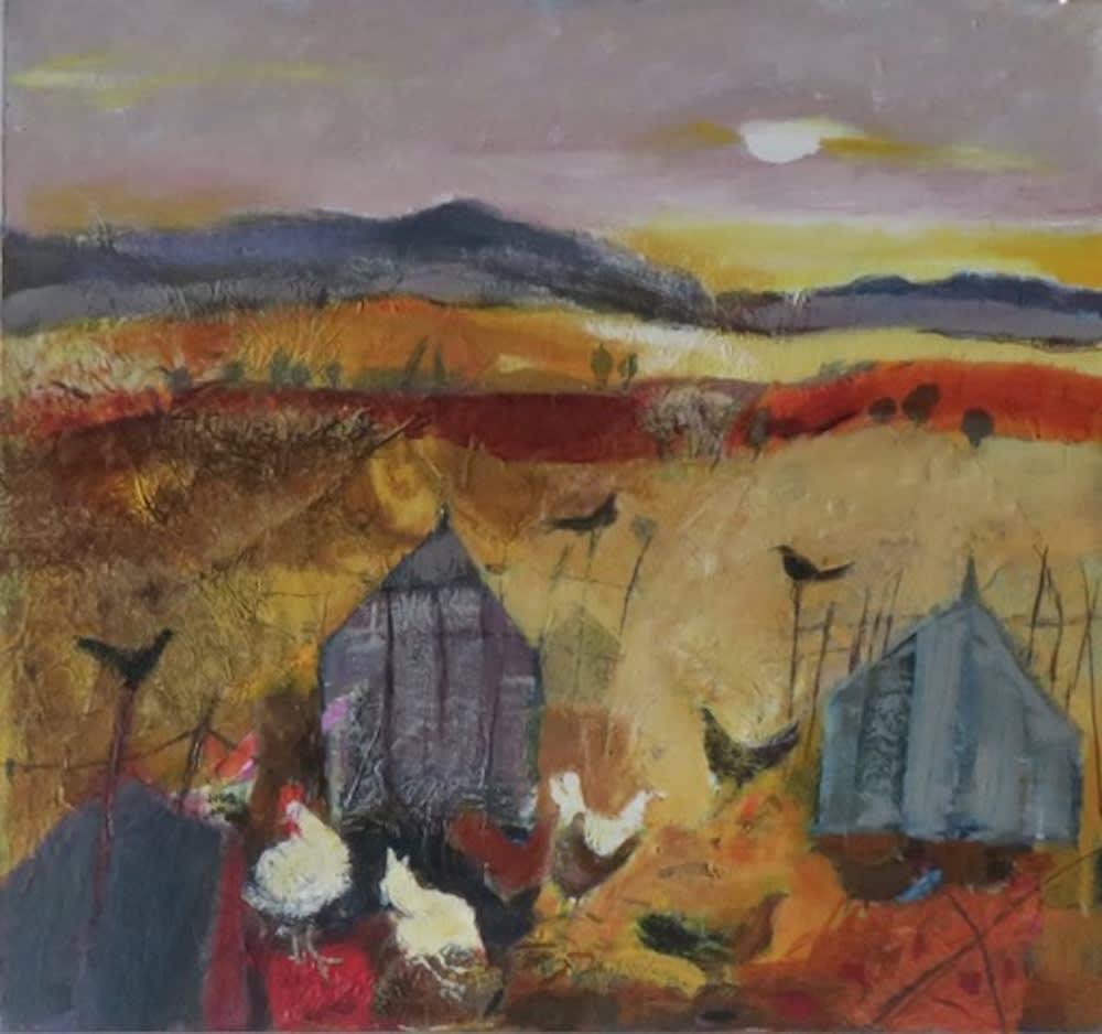 Christine Woodside RSW RGI, Daybreak Fife
