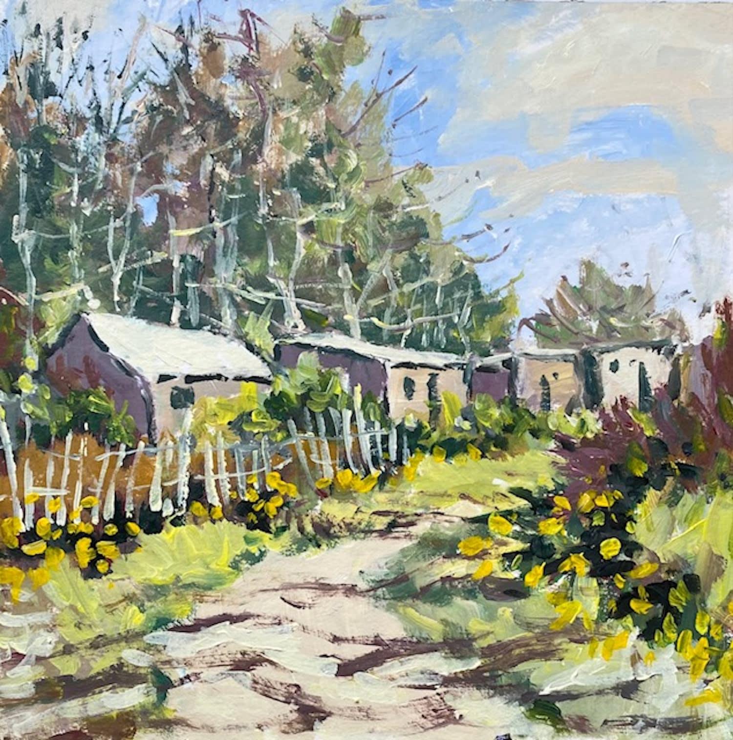 Kathleen Bremner, Garthdee Allotments, May