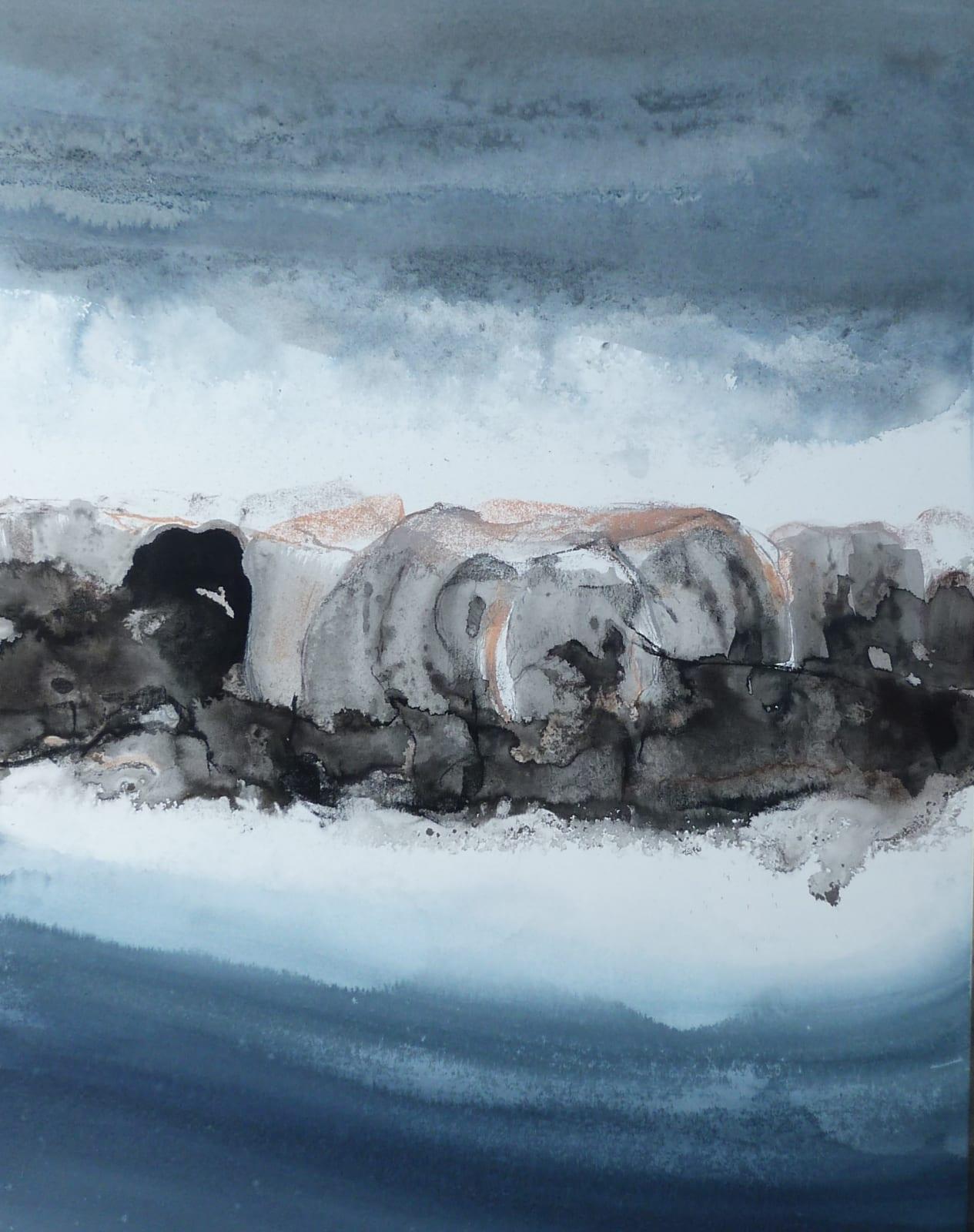Susan Macintosh, Louring Sky, Oldshoremore, 2021
