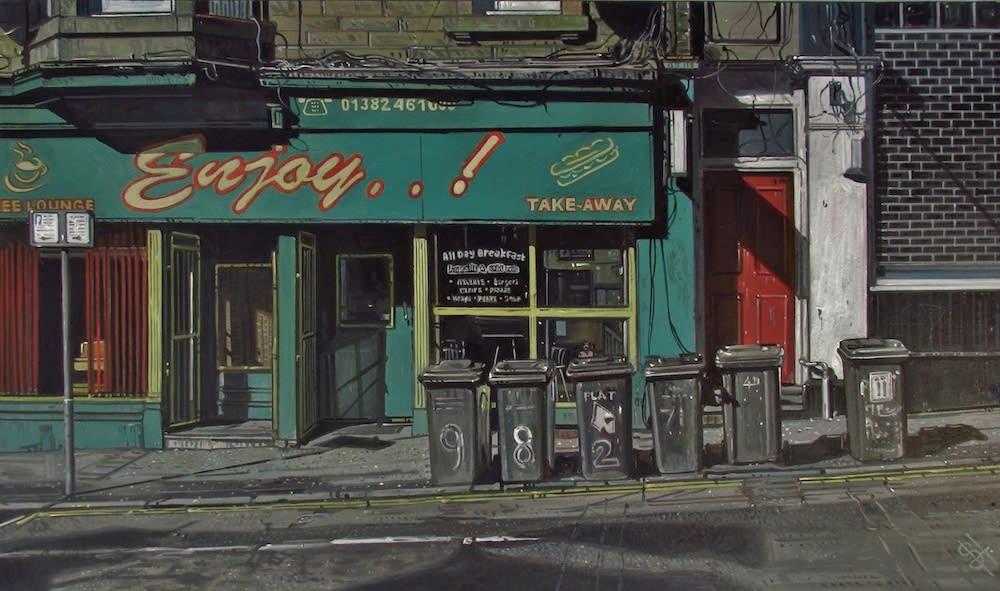 Steven Higginson, Collection Day, Albert Street