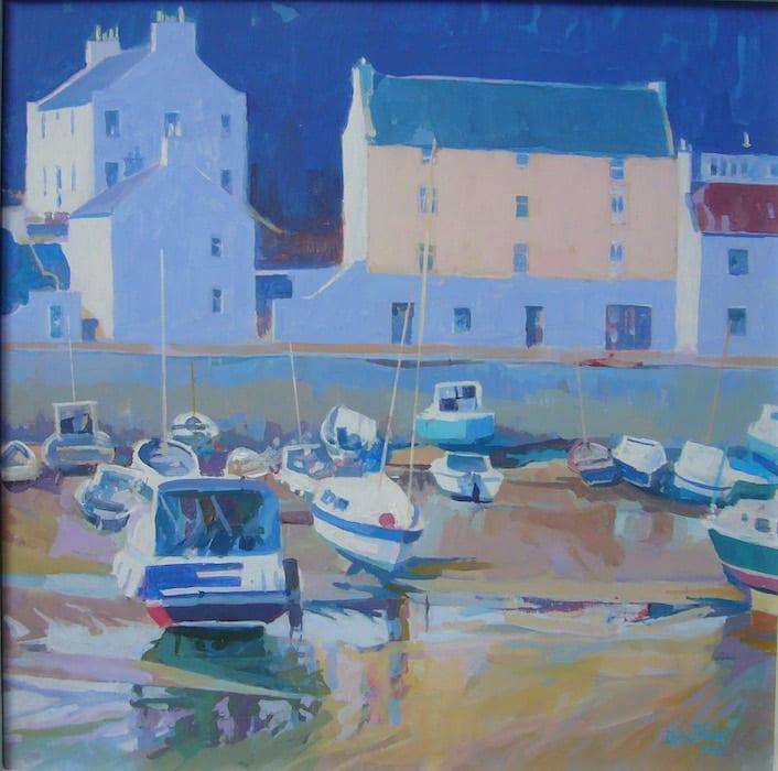 Ian Bashford, Wet Sands, Stonehaven