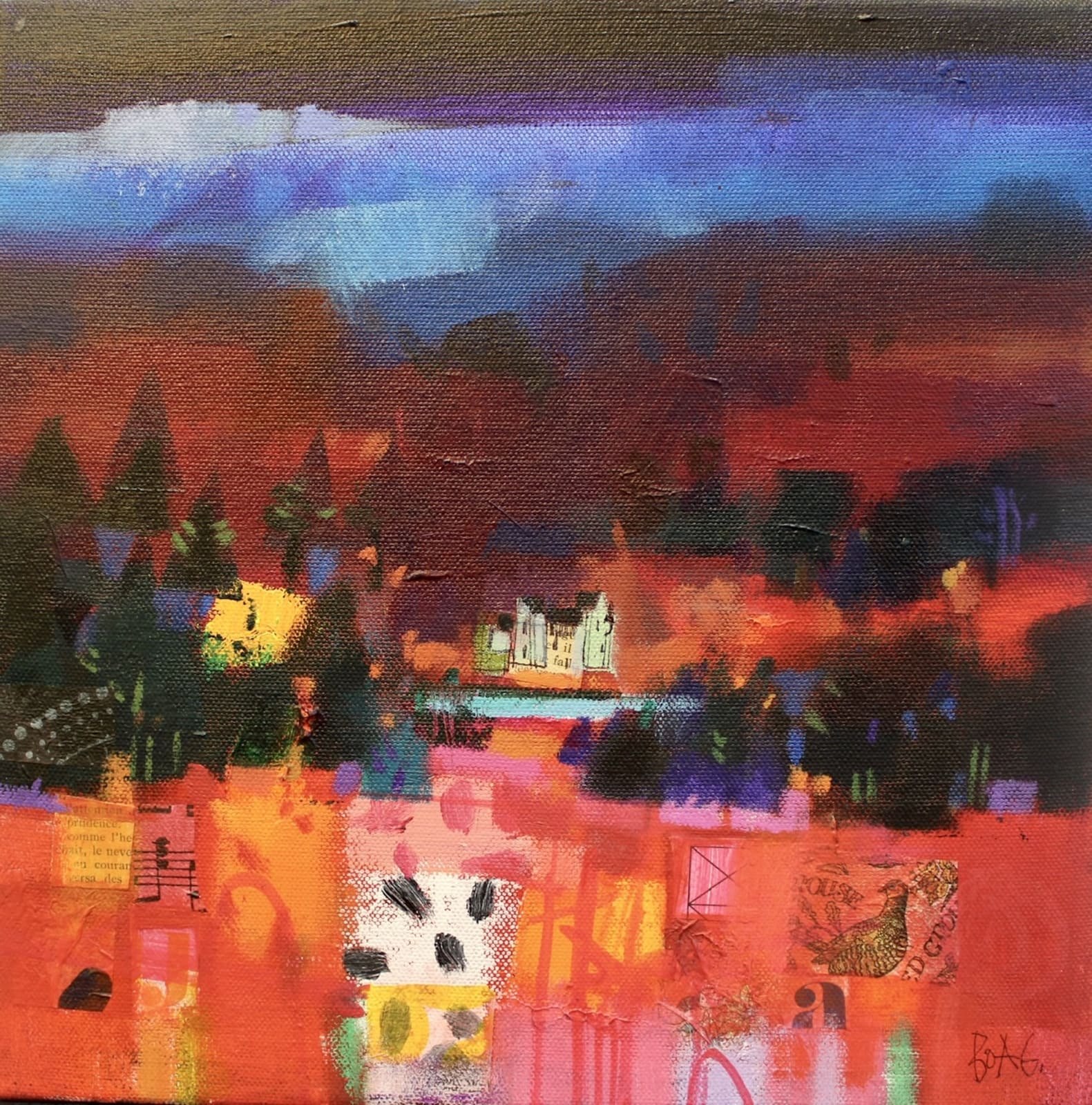 Francis Boag, Winter Hills, Angus