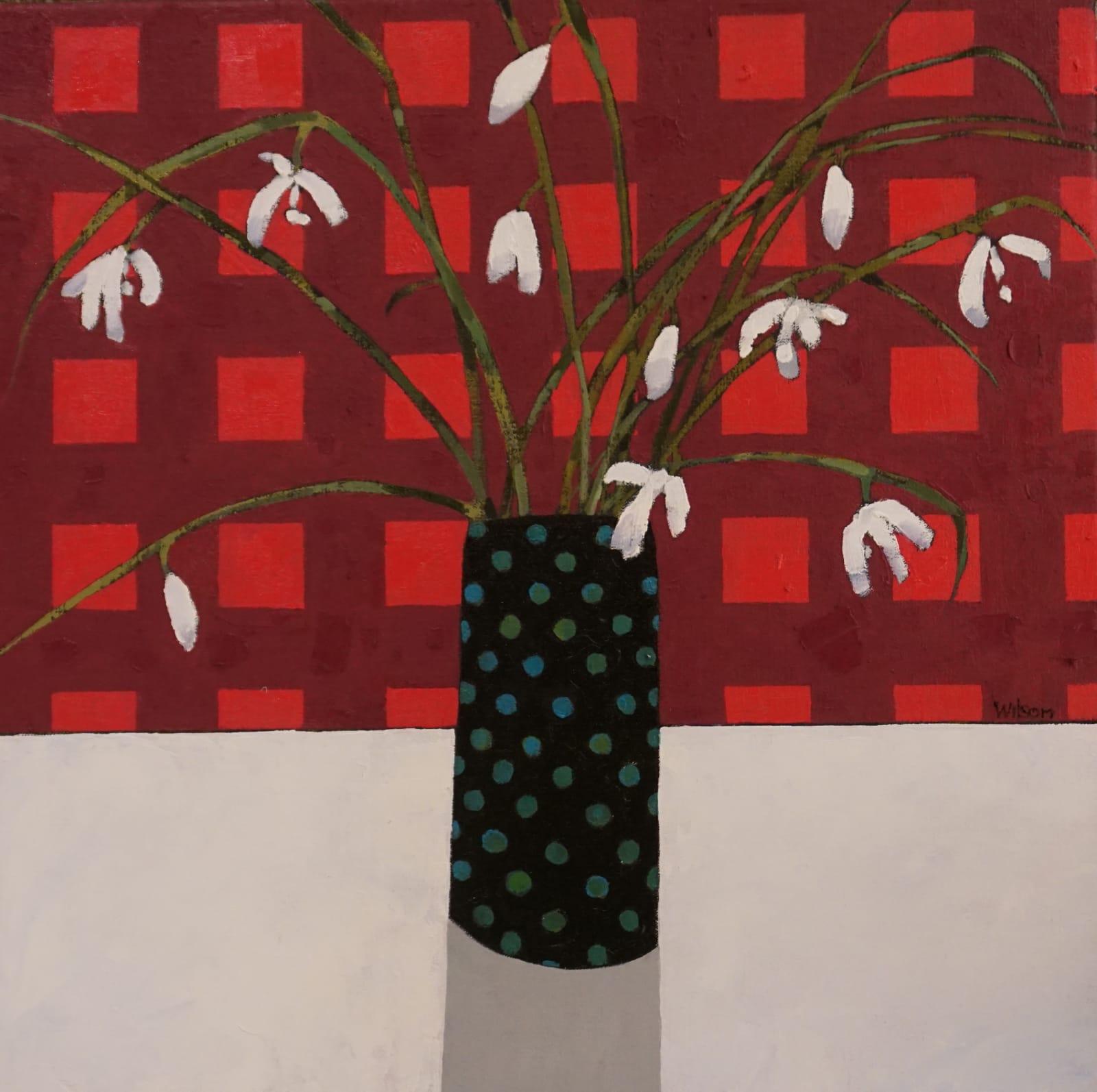 Gordon Wilson, Snowdrops and the Spotty Vase