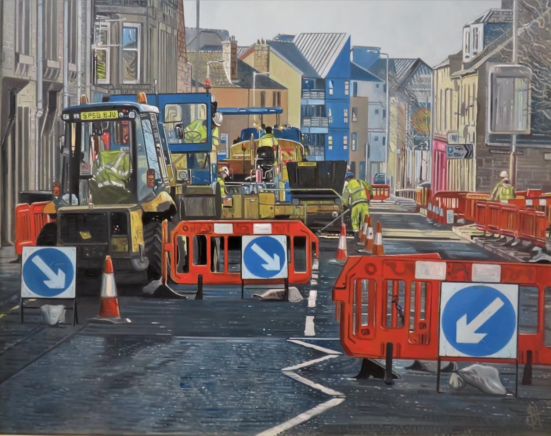 Steven Higginson, Road Works