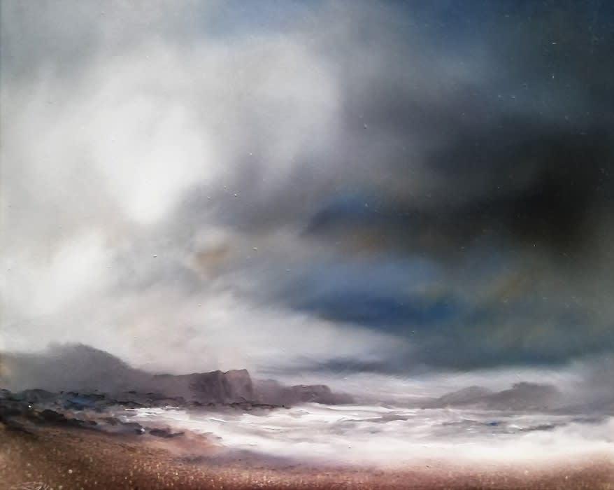 Peter Dworok, Loch Bracadale, Approaching Storm