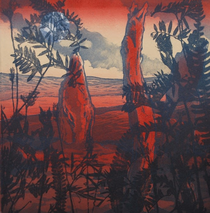 Kitty Watt, Red Stones, Brodgar
