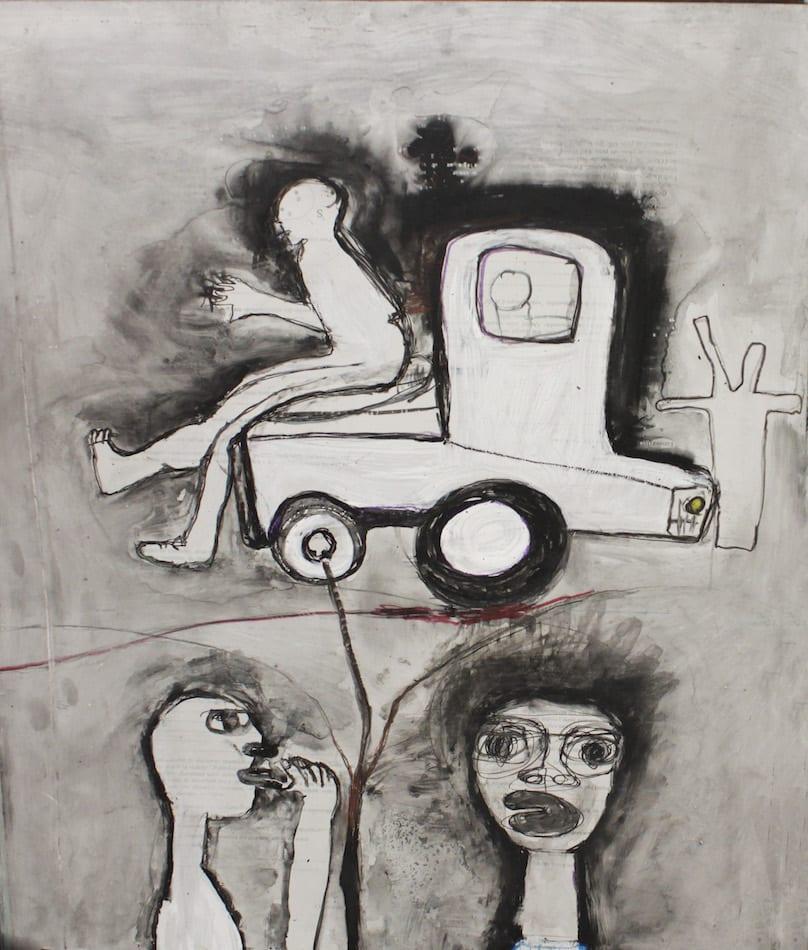 Joel Mpah Dooh, The Concrete Life 2, 2014