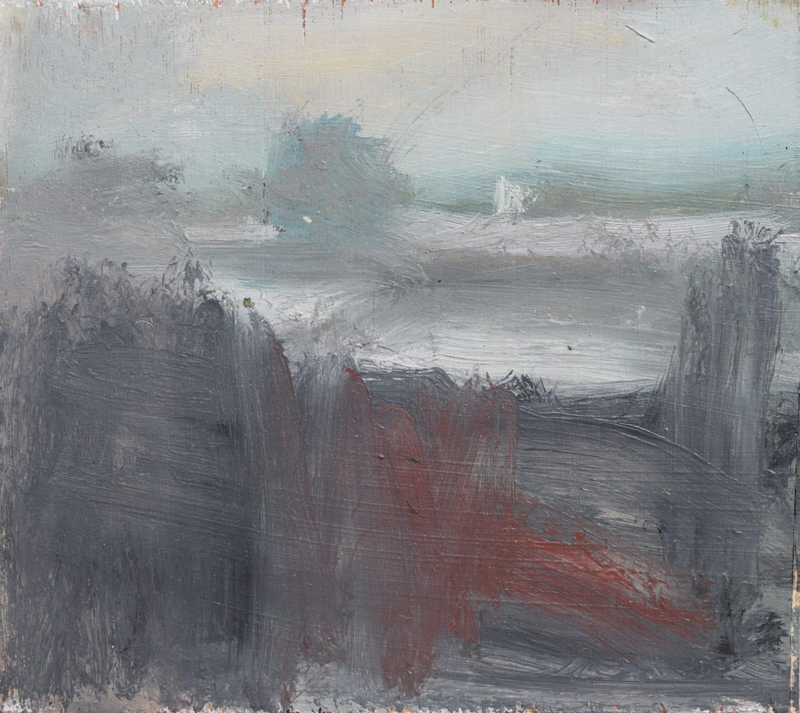 Ian Mood, River Irwell Dusk, 2018