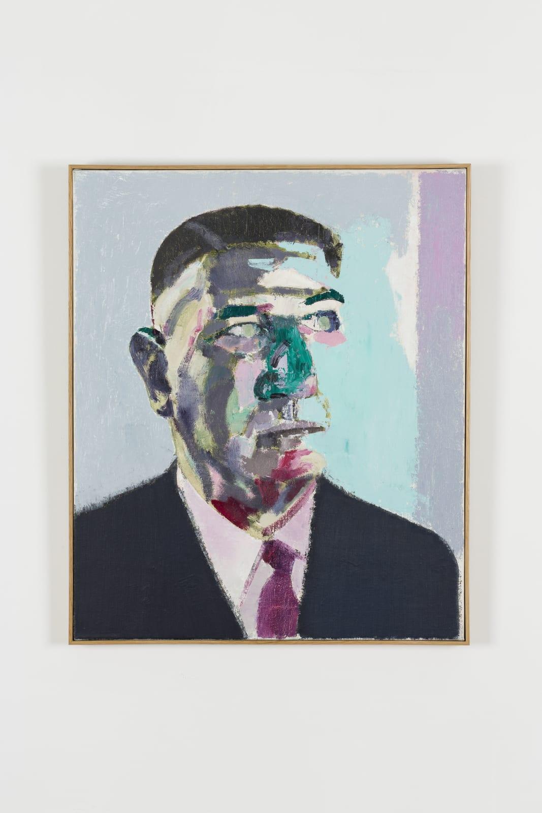 Alex van Warmerdam, Man met paarse stropdas, 2018
