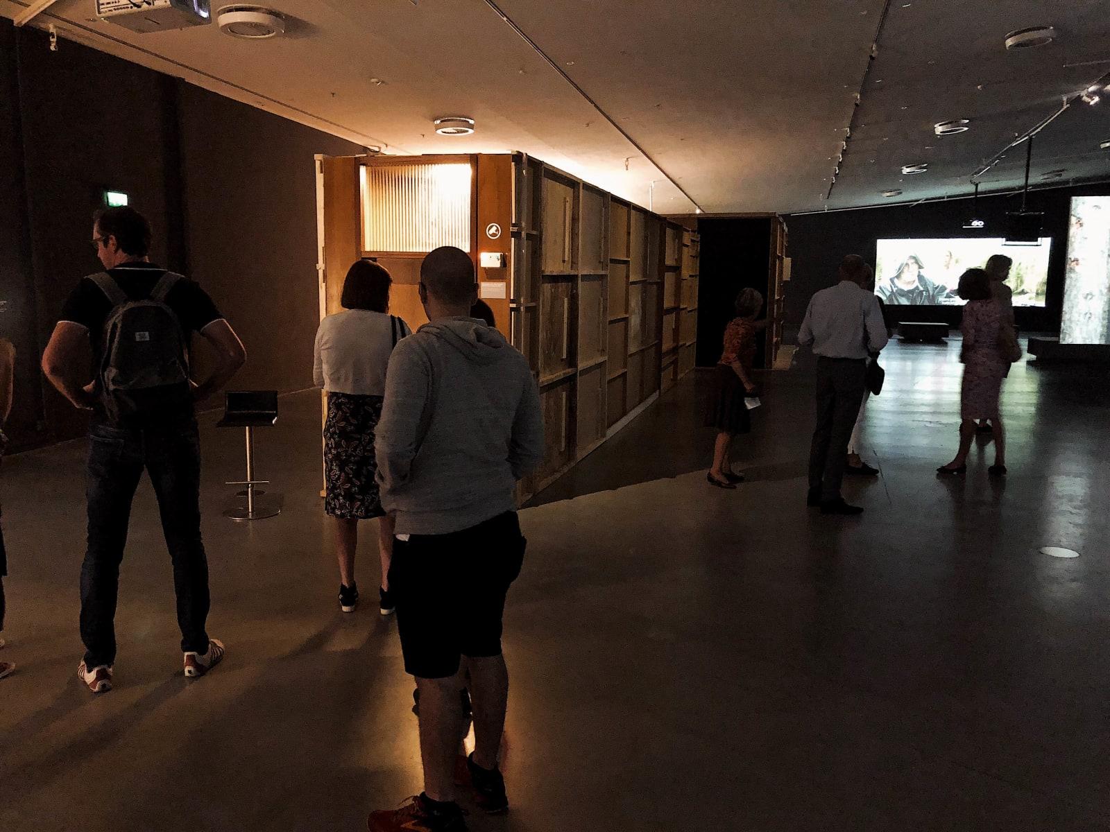 Alex van Warmerdam, Kamer (installation view at Eye Filmmuseum, Amsterdam), 2017 - 2018