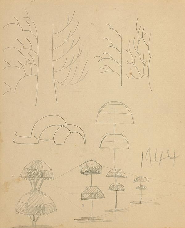 Francis Newton Souza, Untitled, 1944