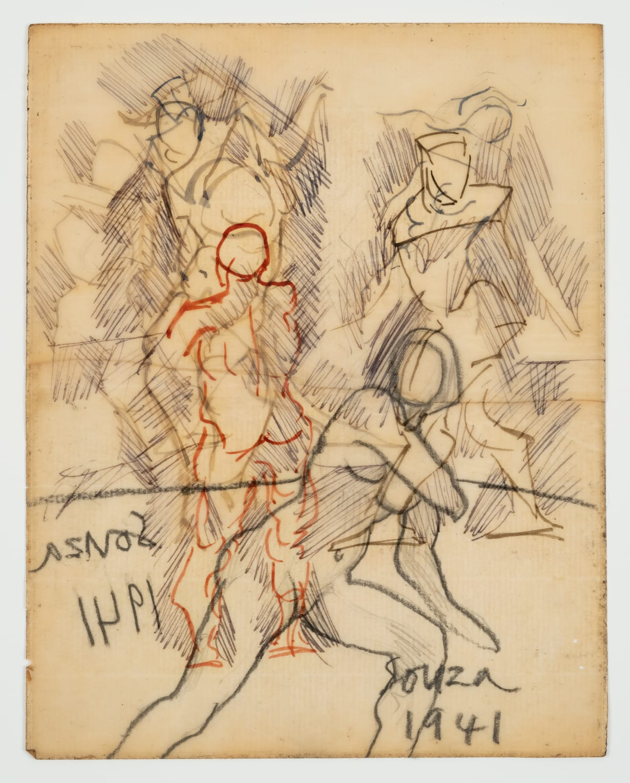 Francis Newton Souza, Untitled (Study) , 1941