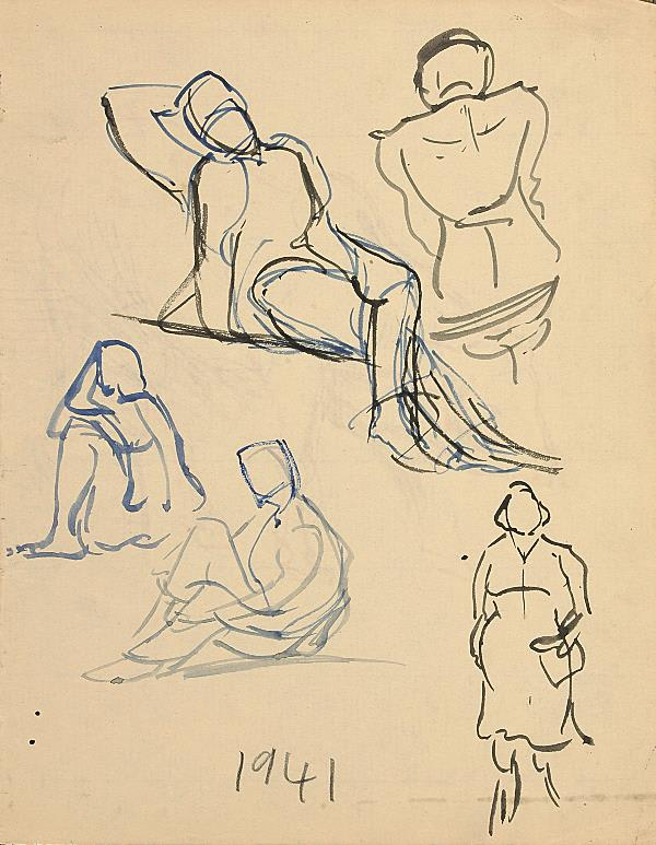 Francis Newton Souza, Untitled, 1941