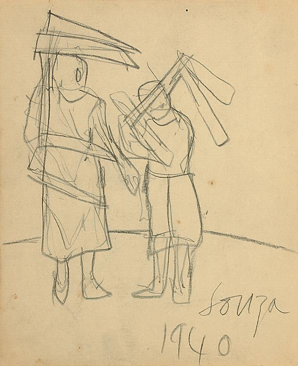 Francis Newton Souza, Untitled, 1940