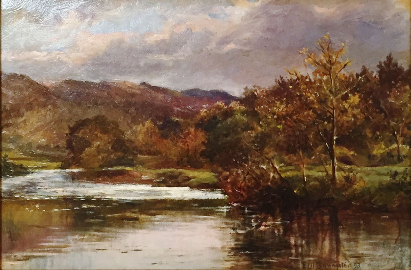 Edward Mitchell Bannister, Untitled Landscape, c.1880
