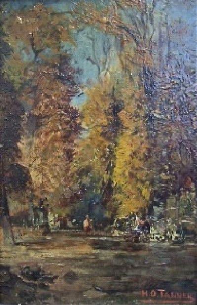 Henry Ossawa Tanner, Untitled, Landscape, c.1880