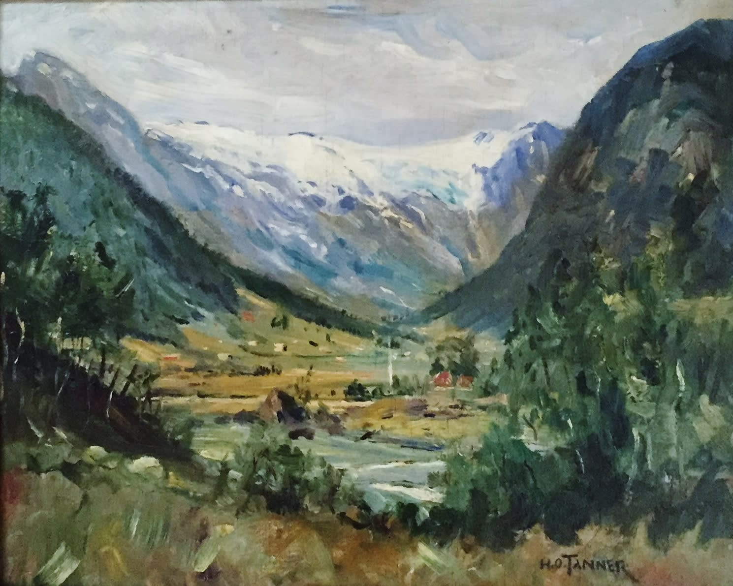 Henry Ossawa Tanner, Untitled (Landscape), c. 1910