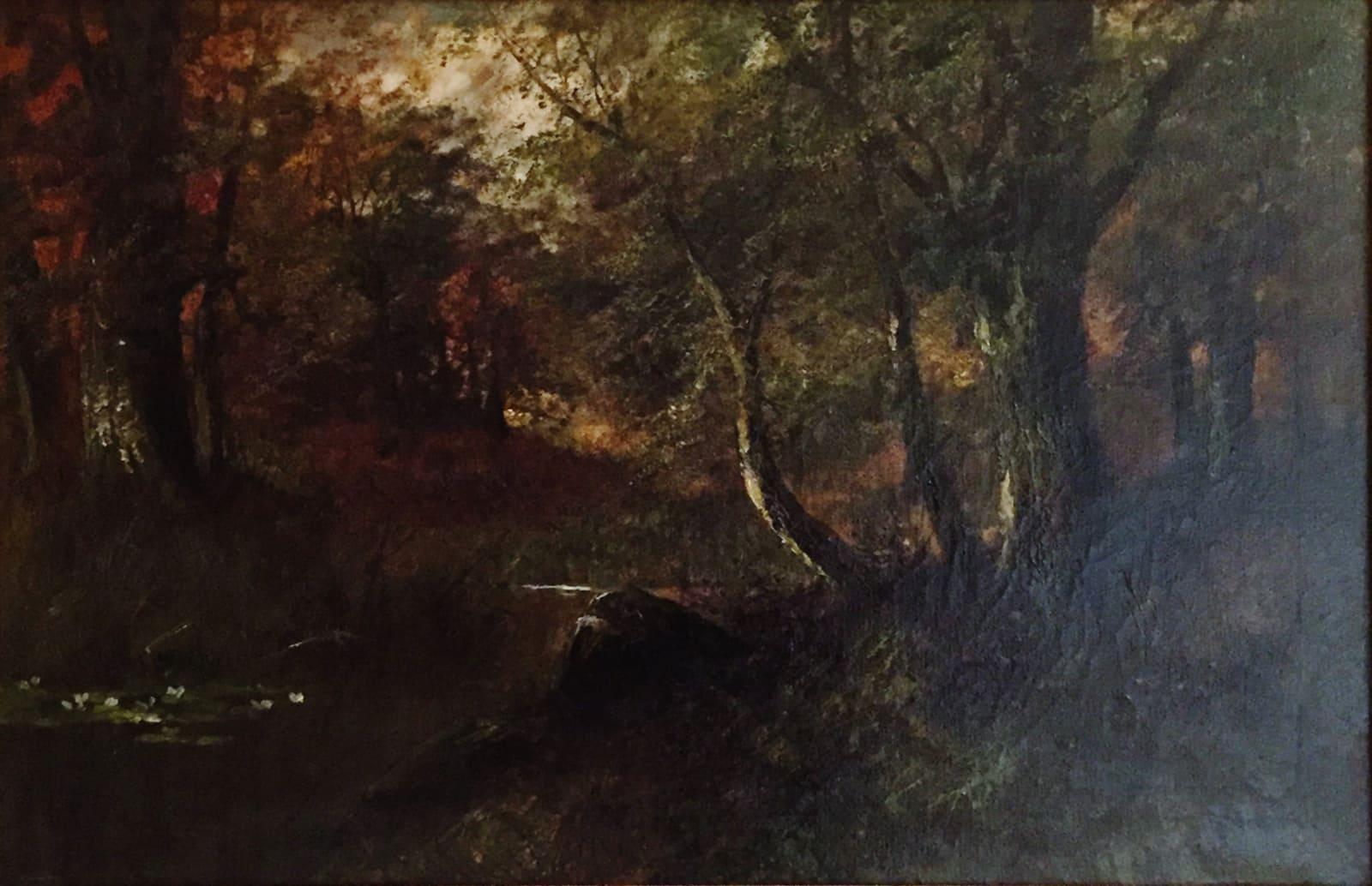 "Charles Ethan Porter, Landscape/ ""New Forest�, c.1879"