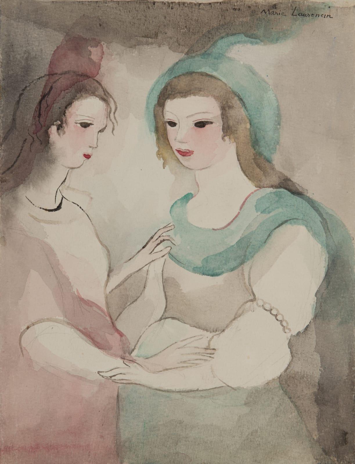 MARIE LAURENCIN, Les deux amies, 1949