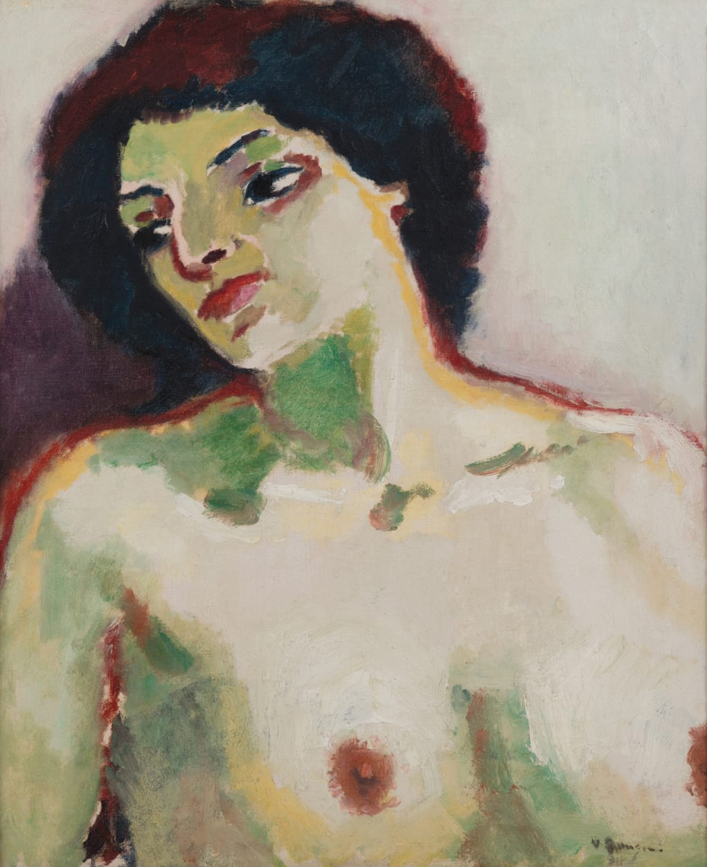 KEES VAN DONGEN, Buste de femme nue, Fernande Olivier, 1911
