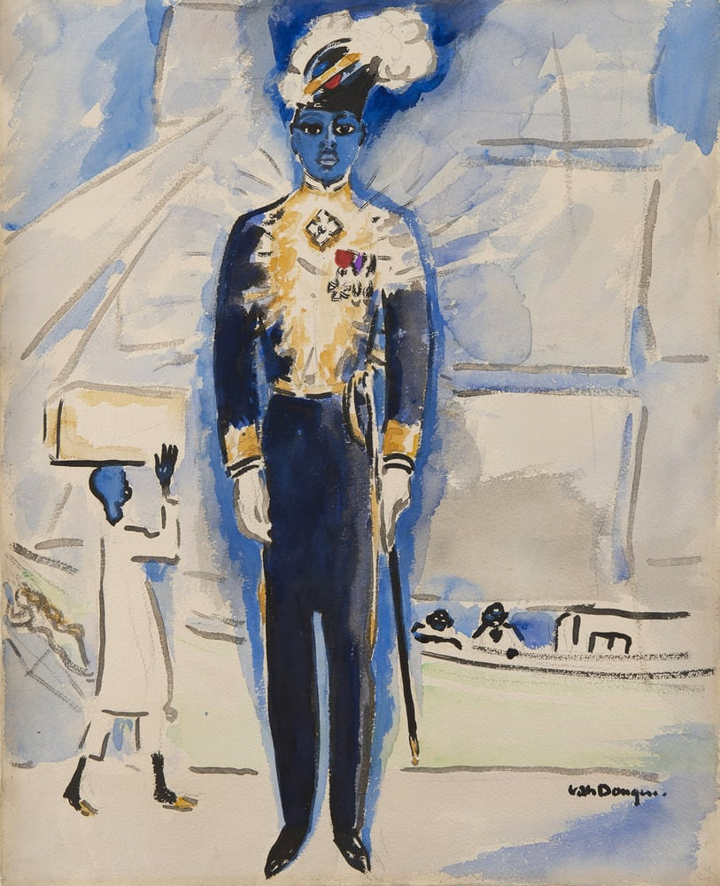 KEES VAN DONGEN, Draeger, un merveilleux Ambassadeur, 1924