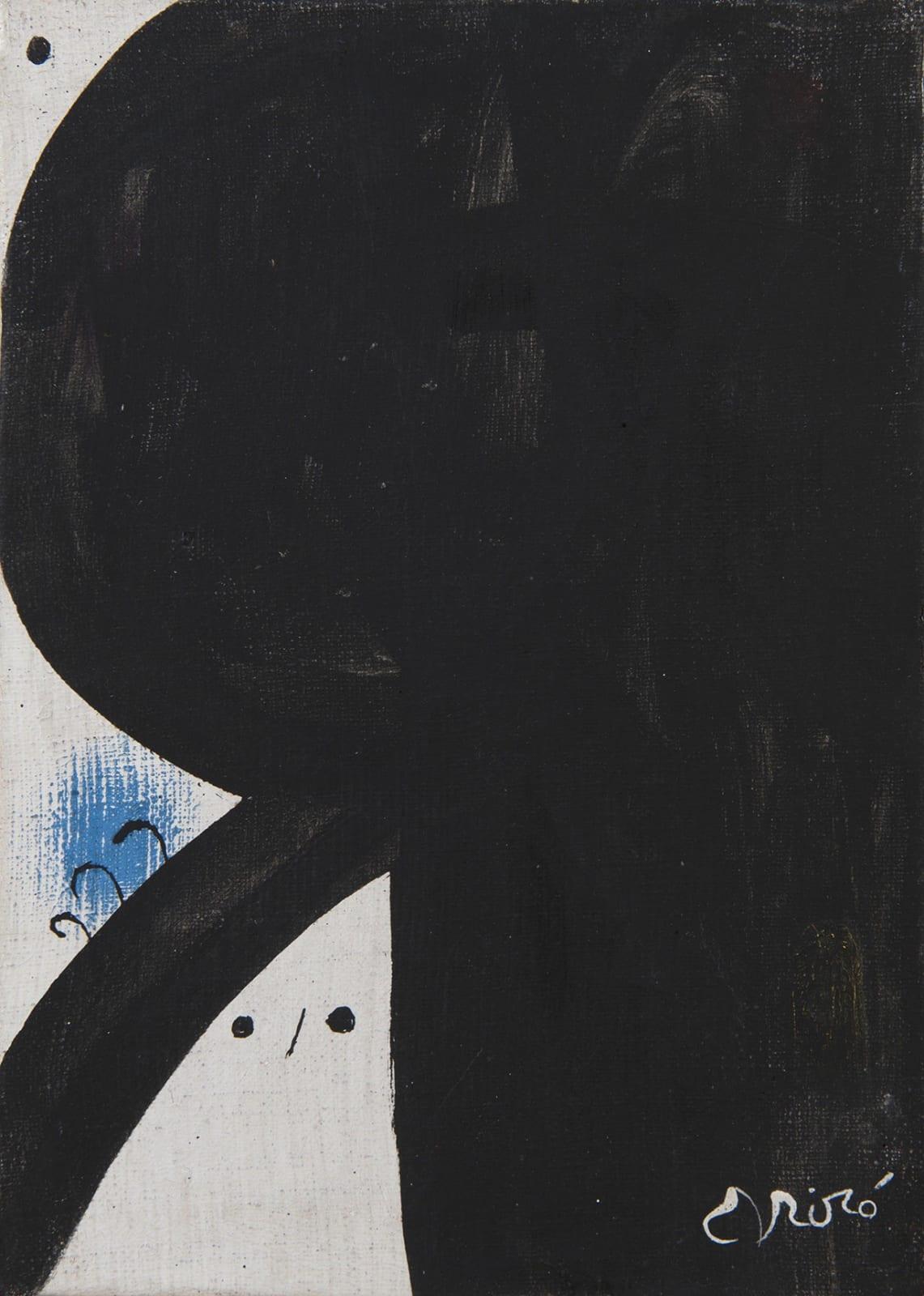 JOAN MIRO, Femme aux trois cheveux, constellation, 26 juillet 1976