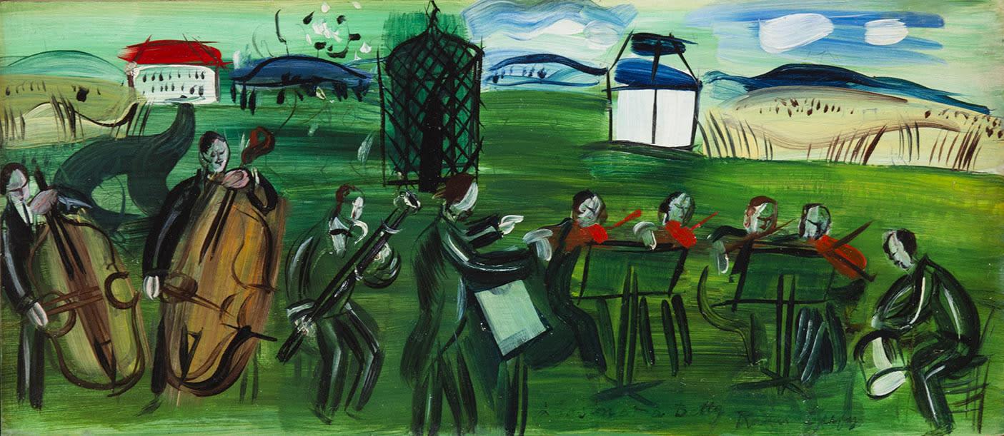 RAOUL DUFY, L'orchestre en plein air