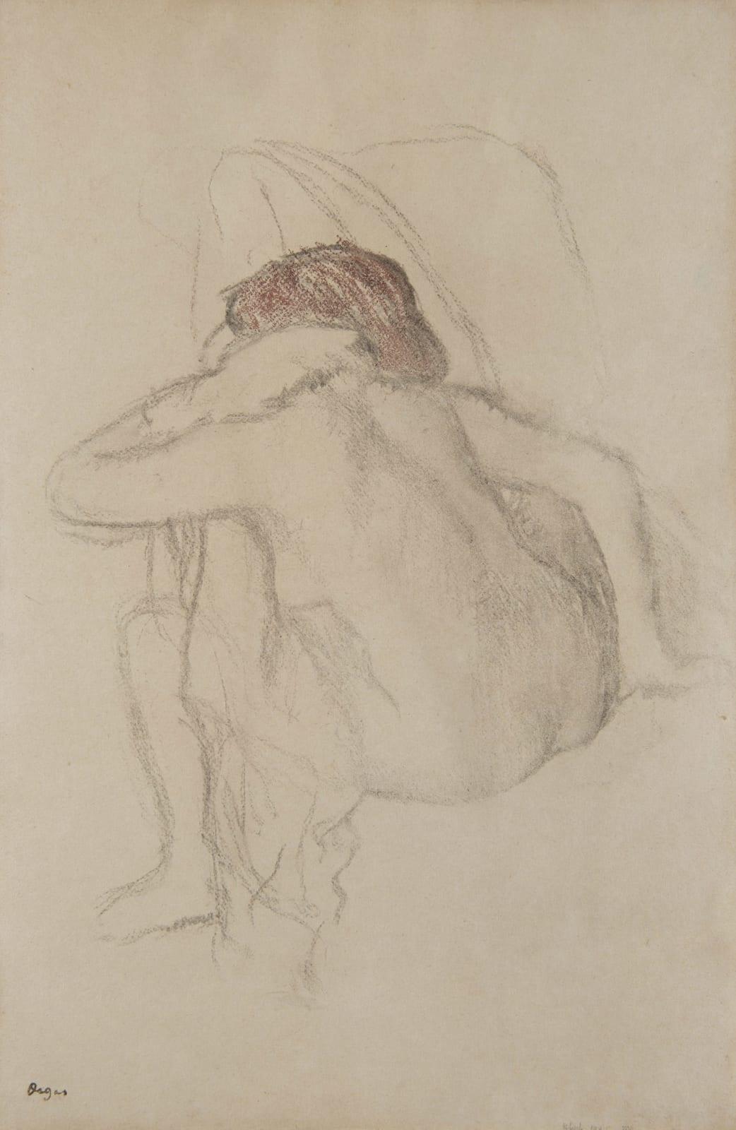 EDGAR DEGAS, Femme s'essuyant, 1888-1892