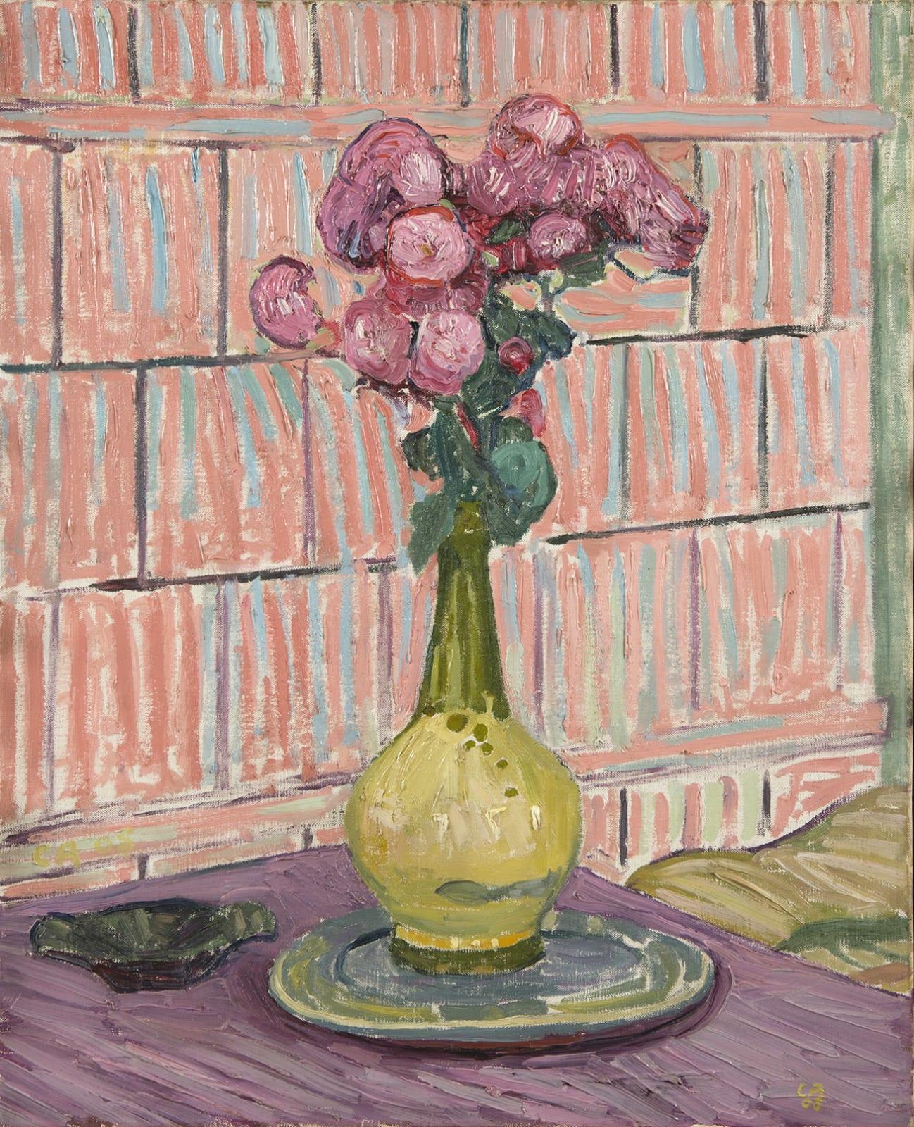 CUNO AMIET, Les roses rouges, 1908