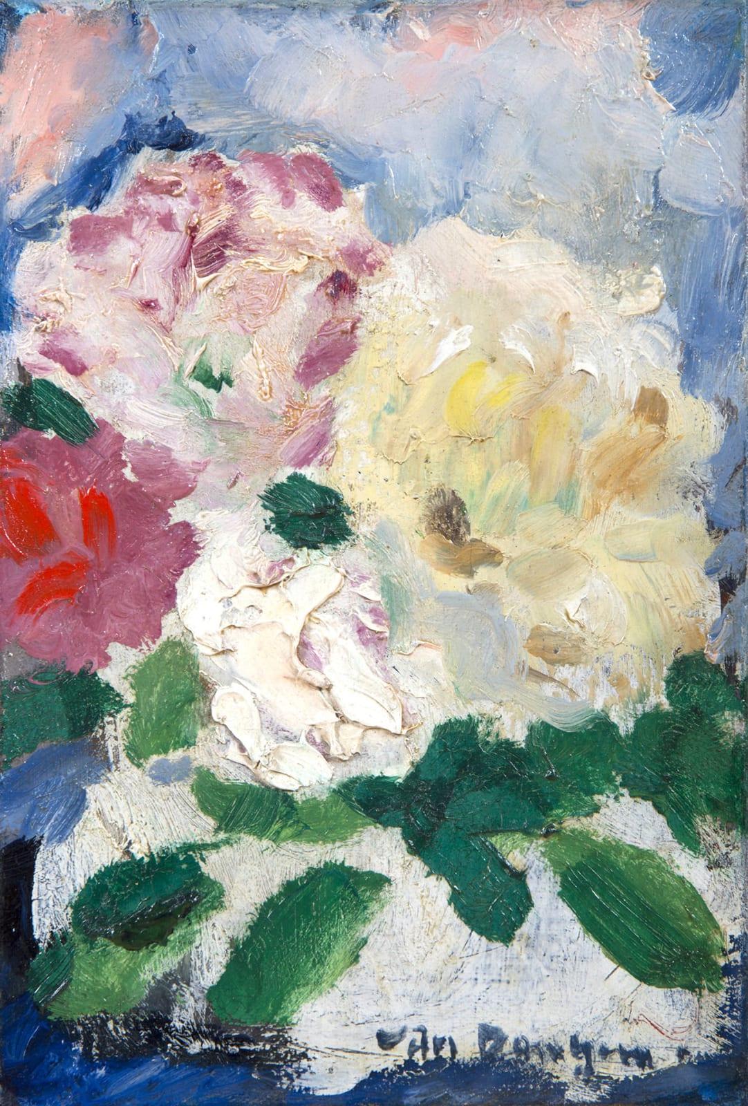 KEES VAN DONGEN, Bouquet de fleurs