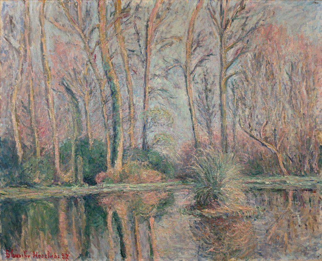 BLANCHE HOSCHEDÉ-MONET, Le bassin des nymphéas à Giverny, 1927