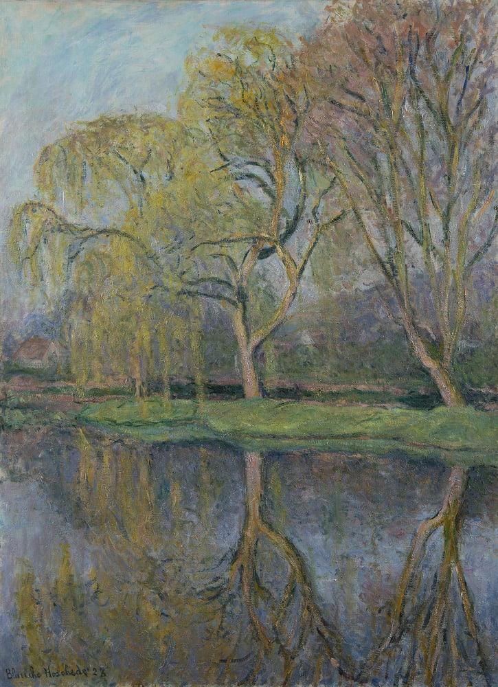 BLANCHE HOSCHEDÉ-MONET, Le Printemps (Le bassin aux nymphéas à Giverny), 1928