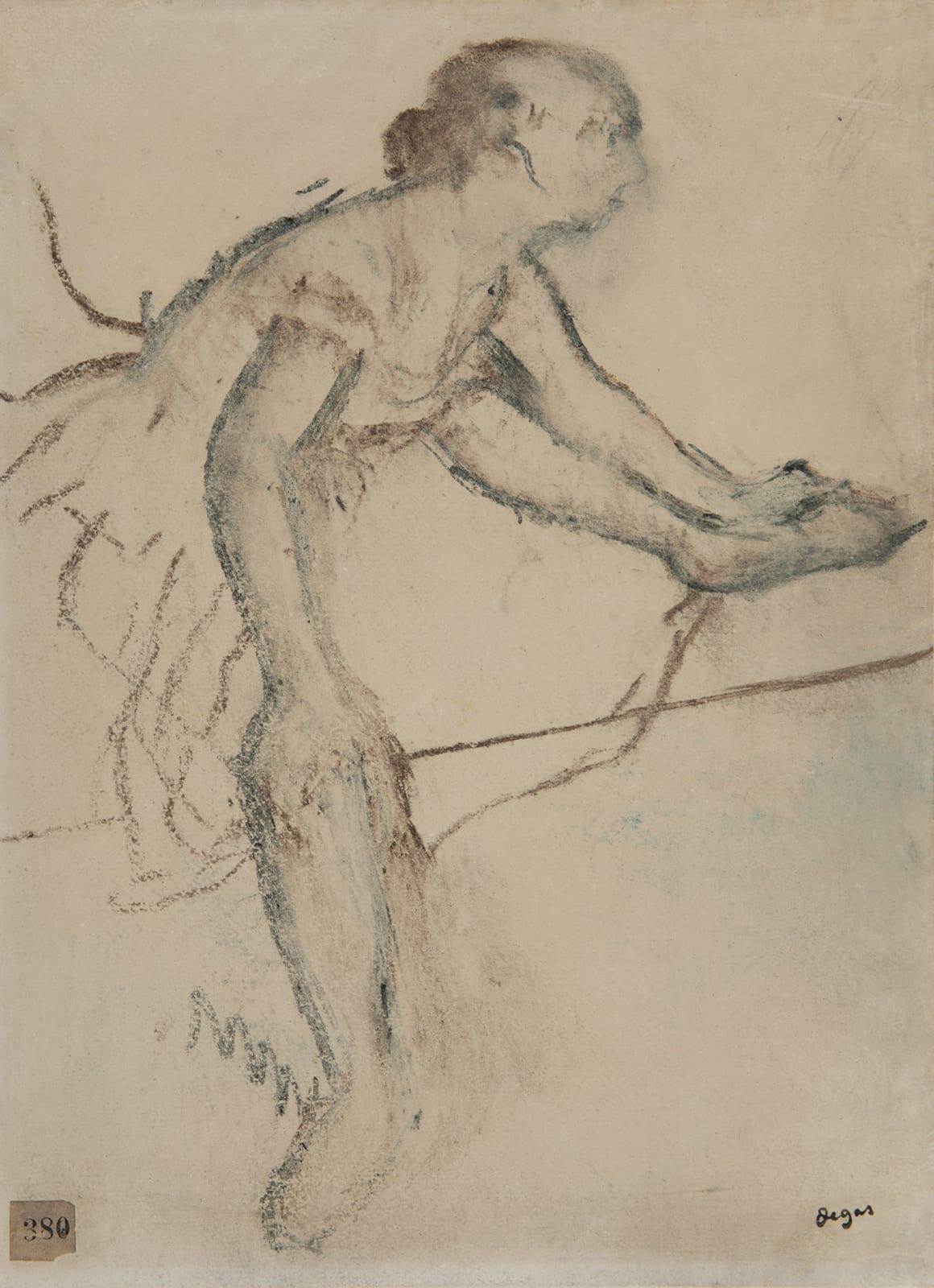 EDGAR DEGAS, Danseuse assise, circa 1899